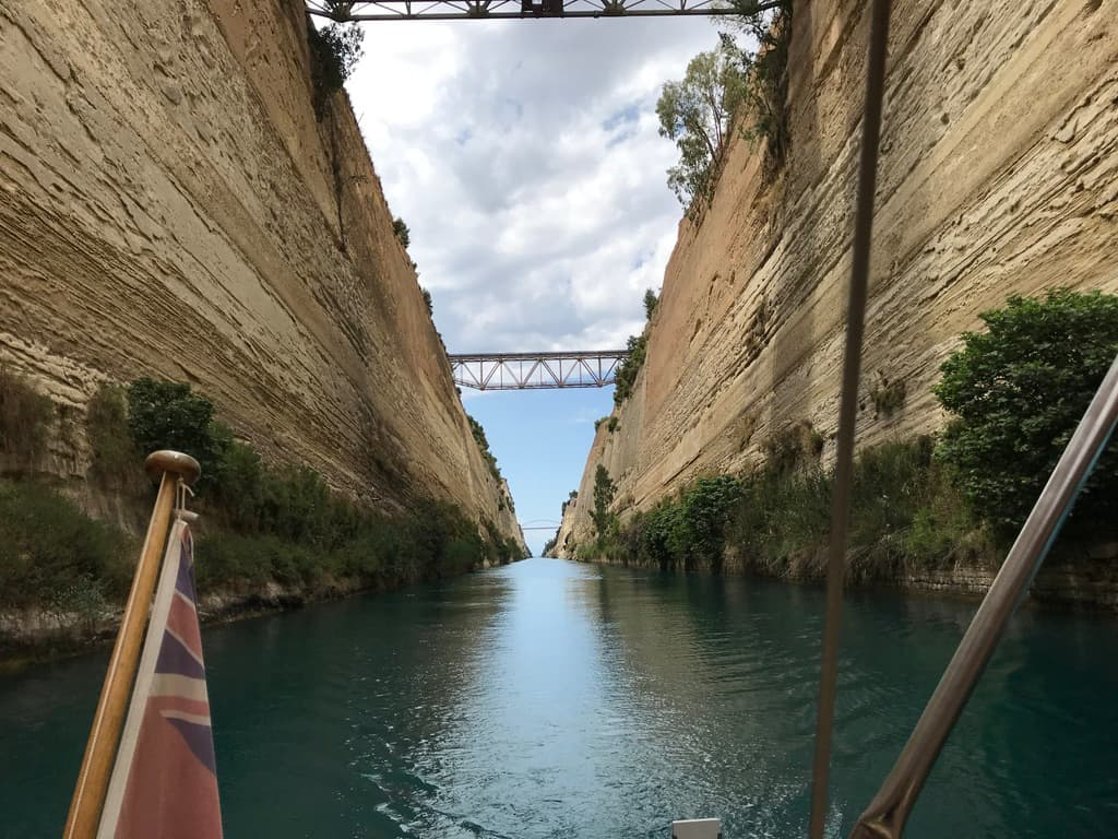 view of corinth canal